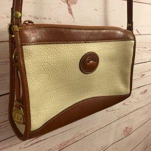 Vintage Dooney & Bourke Leather Handbag Purse Bag